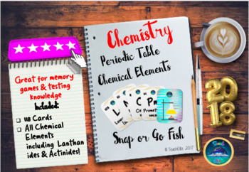 Periodic Table : Chemical Elements Activity