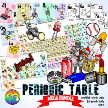 Periodic Table Clipart (Full Version)