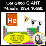 Periodic Table Coloring - Giant Wall-Size Assembly Poster