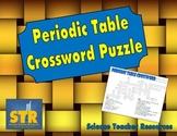 Periodic Table Crossword Puzzle