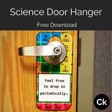 Periodic Table Science Door Hanger