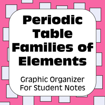 Periodic table of elements worksheet teaching resources teachers periodic table of elements families of elements urtaz Image collections