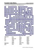 Periodic Table Fill-in Puzzle