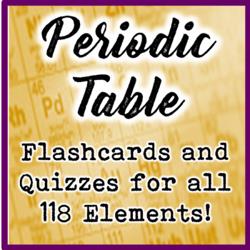 Periodic table element flashcards and quizzes all 118 elements urtaz Images