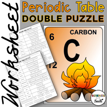 Periodic Table Interactive Cut And Paste Worksheet For Review Or