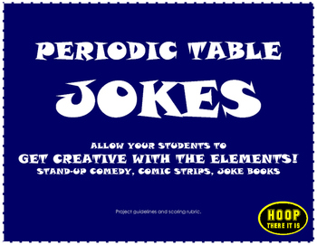 Periodic table jokes project by hoop there it is tpt periodic table jokes project urtaz Choice Image