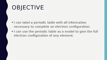 Periodic table labeling activity for electron configurations tpt periodic table labeling activity for electron configurations urtaz Image collections