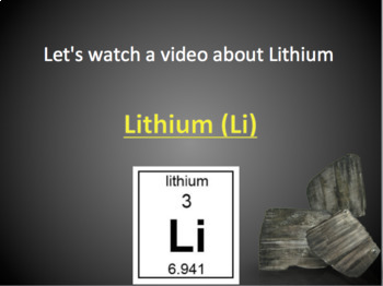 Periodic Table: Metals PPT