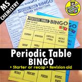 Periodic Table Activity - BINGO
