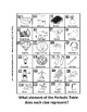 Periodic Table Mystery Puzzle