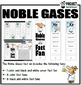 Periodic Table Noble Gases Fact Fans