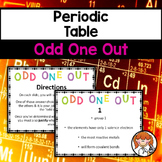 Periodic Table - Odd One Out