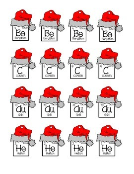 Periodic Table Ornaments