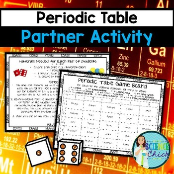 Periodic Table Partner Activity