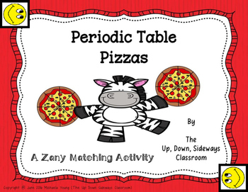 Pizza match teaching resources teachers pay teachers periodic table pizzas matching review activity periodic table pizzas matching review activity urtaz Choice Image