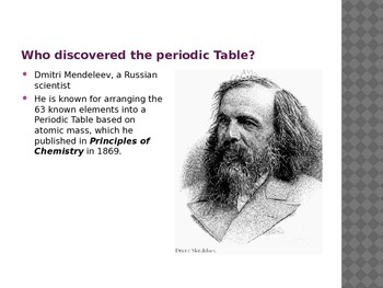 Periodic Table  Powerpoint Presentation.