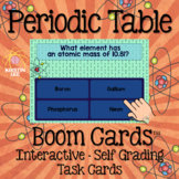 Periodic Table Practice Bundle - Boom Cards Interactive Ta