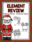 Periodic Table of Elements Review - Color by Element