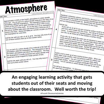 Journey through the Carbon Cycle: A Roll Your Own Adventure Activity