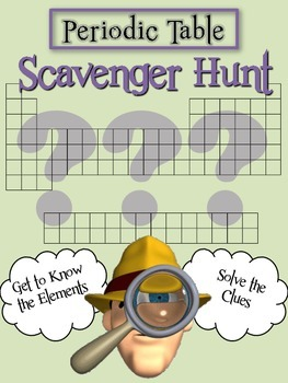 Periodic Table: Scavenger Hunt Fun!