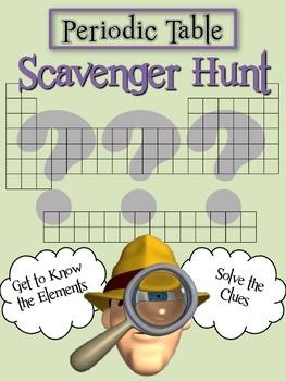 Periodic Table: Scavenger Hunt Fun!