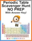 Periodic Table Scavenger Hunt - NO PREP - Answer Key