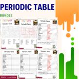 Periodic Table Science Activity Bundle Scramble Word Finde