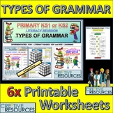 Literacy and Grammar Revision Student WorkSheets