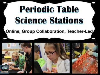 Periodic Table Science Stations (online, group collaboration, teacher-led)