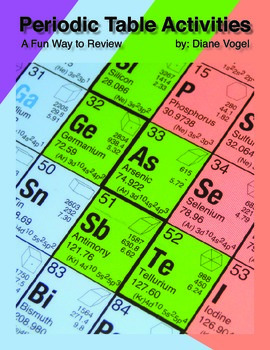 Periodic Table Activities
