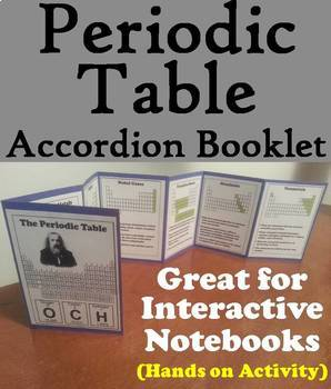 Periodic Table Task Cards and Activities Bundle