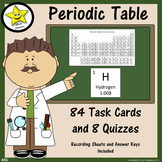 Periodic Table Task Cards and Quizzes  Distance Learning