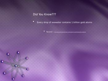 Periodic Table - The Atom