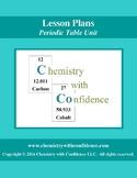 Periodic Table Unit - LESSON PLANS