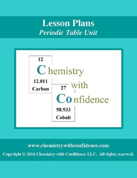 Periodic Table Unit - LESSON PLANS