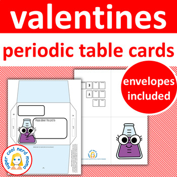 Valentine's Day Cards Periodic Table