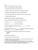 Periodic Table Webquest
