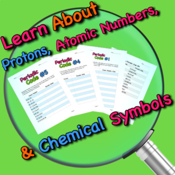 Periodic Table Activities: The Periodic Code (Learning the Periodic Table)
