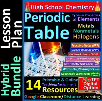 Periodic Table: a quick study guide & review for quizzes, midterm & final exams