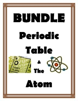 PERIODIC TABLE AND ATOM BUNDLE