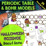Periodic Table and Bohr Model Board Game (Halloween Edition)