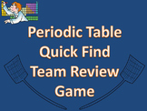 Periodic Table and Periodic Trends Review Game
