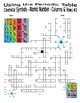 Periodic Table (3 Puzzles) - Chemical Symbols, Atomic Number, Columns
