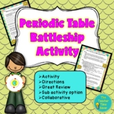 Periodic Table of Elements Activity- Matter & Chemistry