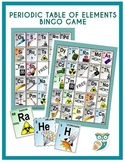 Periodic Table of Elements BINGO Game For Classrooms