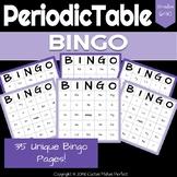 Periodic Table of Elements Bingo