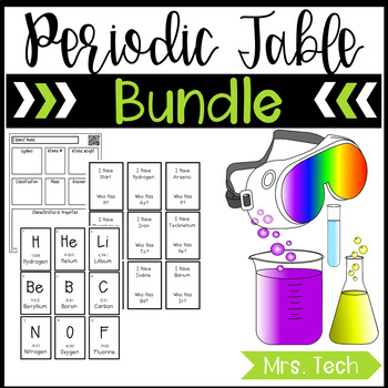 Periodic Table of Elements Bundle