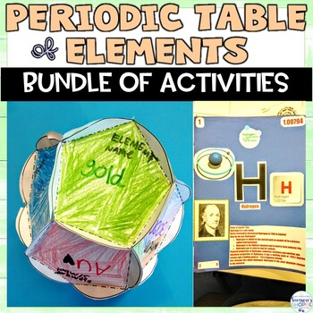 Periodic table of elements project teaching resources teachers pay periodic table of elements unit of nonfiction readings activities and a project urtaz Choice Image