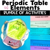 Periodic Table of Elements Unit of Nonfiction Readings Activities and a Project