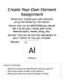 Periodic Table of Elements: Create your own element